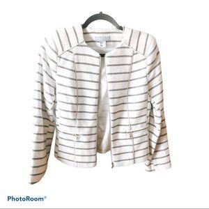3/60 Deal Price drop !!White Blazer with stripes